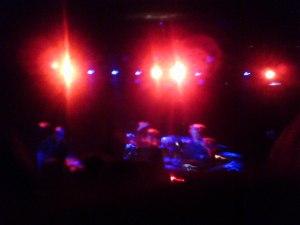Killing Joke onstage at the Fillmore at Irving Plaza, NYC. Photo by Lynn Vala